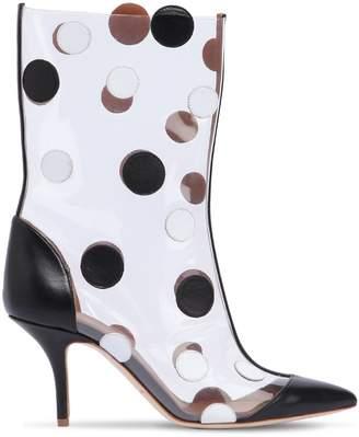 45mm Katoucha Leather & Plexi Boots