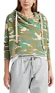 NSF Women's Savannah Camouflage Cotton Crop Hoodie