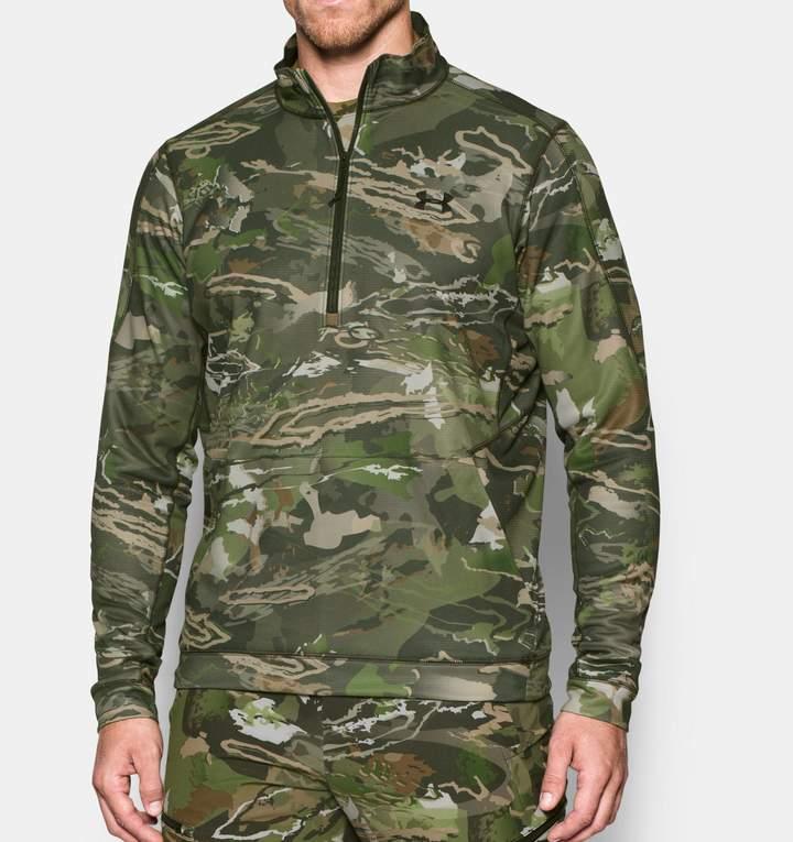 Under Armour Men's UA Threadborne Scent Control Fleece Zip