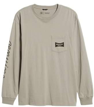 Brixton Ramsey Long Sleeve Pocket T-Shirt