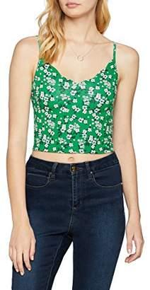 New Look Women's 5794563 Vest Top, (Green Pattern 39), (Size:)