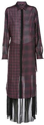 Diesel D-Baggy Long-Sleeve Shirtdress