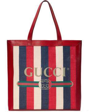 Gucci Print large tote