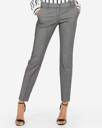 Express Low Rise Columnist Ankle Twill Pant