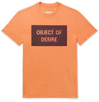 Maison Margiela Printed Cotton-Jersey T-Shirt