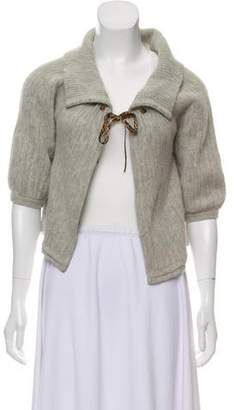 John Galliano Lightweight Wool Cardigan