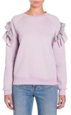 Stella McCartney Ruffled Shoulder Sweatshirt