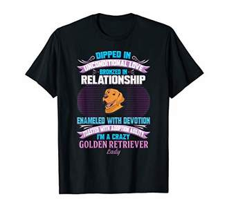 Golden Retriever Funny Crazy Lady T Shirt T-Shirt