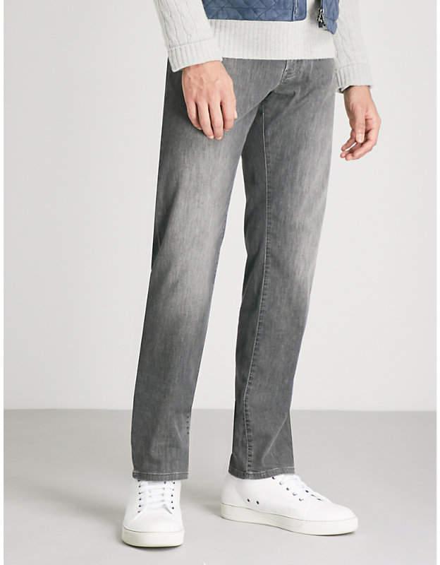 Corneliani Regular-fit straight jeans
