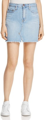 Nobody Piper Denim Skirt in Favourite $149 thestylecure.com