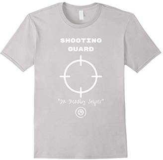 """Shooting Guard """"Da Deadly Sniper"""" Basketball Tee shirt"""