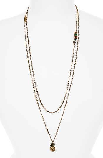 Marc By Marc JacobsWomen's Marc Jacobs Pineapple Layer Necklace