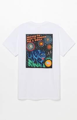 RVCA x Luke Pelletier Blue Panther Pocket T-Shirt