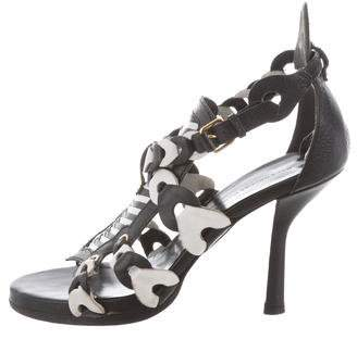 Balenciaga Bicolor Multistrap Sandals