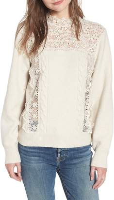 Hinge Lace Pullover