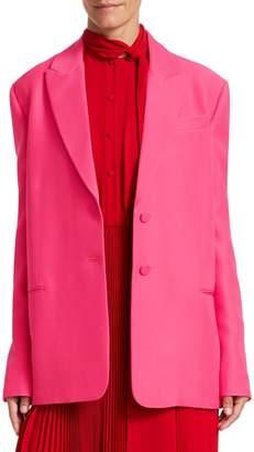 Valentino Oversize Single Breasted Blazer
