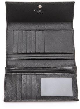 Salvatore Ferragamo Vara Icona Bow Wallet