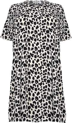 Next Womens Glamorous Curve Leopard Print Dress