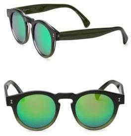 Illesteva Palm Beach 49MM Round Sunglasses