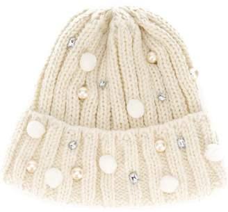 CA4LA embellished beanie hat