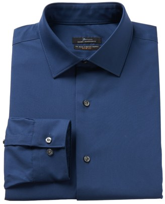 Men's Marc Anthony Slim-Fit Non-Iron Stretch Dress Shirt $59.50 thestylecure.com