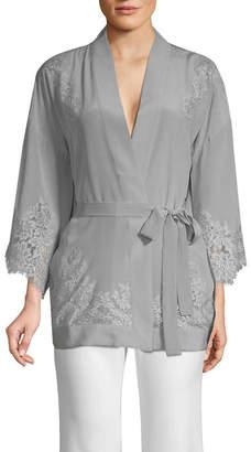 Gold Hawk Kimono Wrap Top