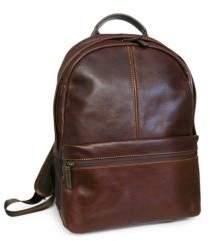 Boconi Slim Leather Backpack
