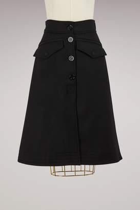 Moncler Wool skirt
