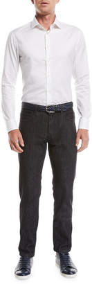 Giorgio Armani Men's Twill Denim Pants