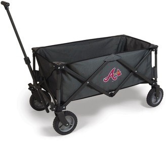 Picnic Time Atlanta Braves Adventure Folding Utility Wagon