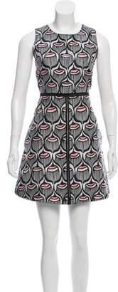 Giamba Patterned Sleeveless Dress