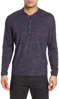 Robert Graham Forster Long Sleeve Henley Shirt