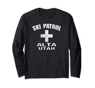 1980s Style Alta UT Long Sleeve Skiing Shirt