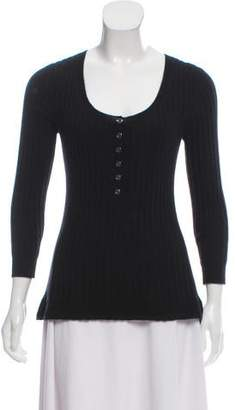 Burberry Knit Long Sleeve Sweater