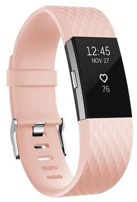 Fitbit Vancle Charge 2 Bands Band Replacement Small Large Silicone Special Blush Pink, Large
