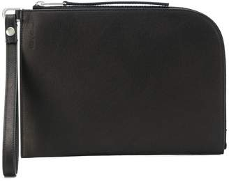 Rick Owens medium zipped pouch