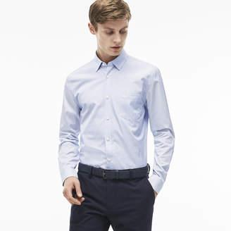 Lacoste (ラコステ) - ストライプ レギュラーフィットシャツ (長袖)