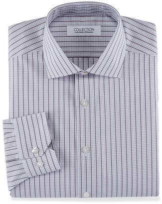 COLLECTION Collection by Michael Strahan Cotton Stretch Long Sleeve Dress Shirt Big and Tall