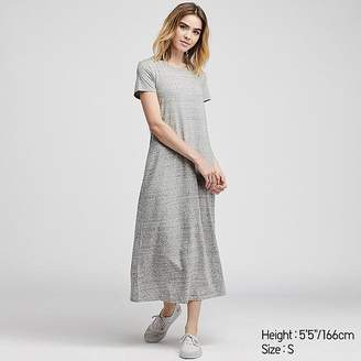Uniqlo Women's Short-sleeve Long Bra Dress