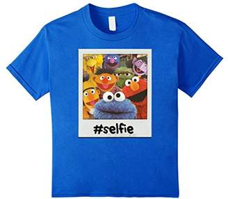 Sesame Street Selfie Group Pose T-Shirt