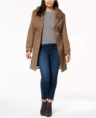 Calvin Klein Plus Size Waterproof Trench Coat