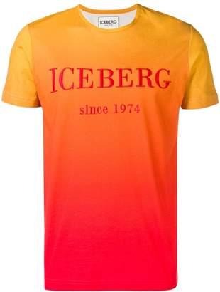 Iceberg orange logo T-shirt
