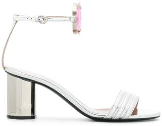 Marco De Vincenzo embellished strappy sandals
