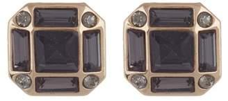 Halogen Banquette Stone Stud Earrings