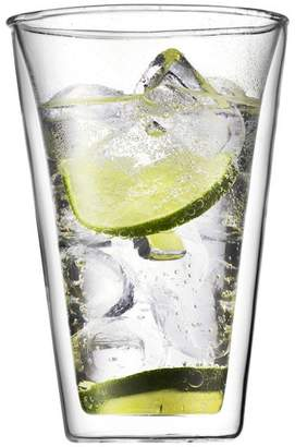 Bodum Canteen 2 Pieces Glass, Double Wall, Large, 0.4 L