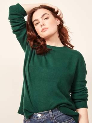 Reformation Cashmere Boxy Sweater