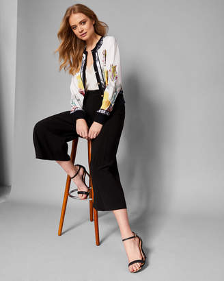 Ted Baker OLYVIAA Tranquility woven bomber jacket
