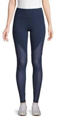 Alo Yoga Motion Mesh-Panel Active Leggings
