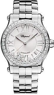 Chopard Women's Happy Sport Diamond & Stainless Steel Bracelet Watch