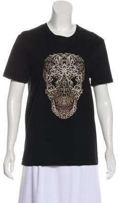 Alexander McQueen Short Sleeve Graphic T-Shirt